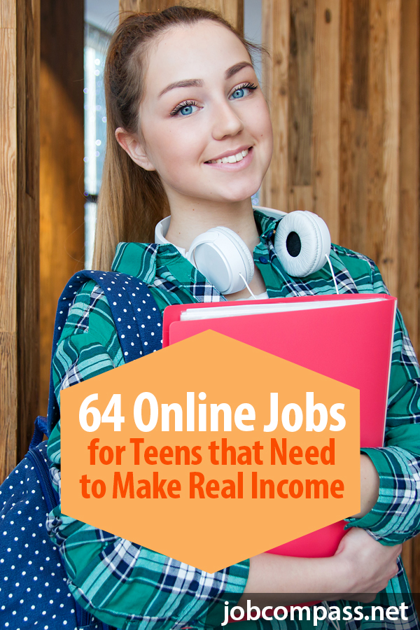Do you want you teen to understand the value of a dollar without jeopardizing their education? Are you worried about them jumping into the working world and losing their focus? Here are 64 online jobs for teens under 18 that are legit and free!