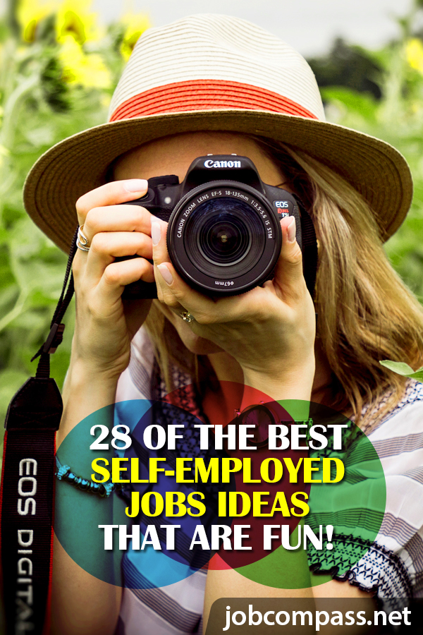 When you get tired of working for someone else, consider the best self-employed jobs ideas out there. There are dozens of self-employed job options out there, so you can work for yourself!