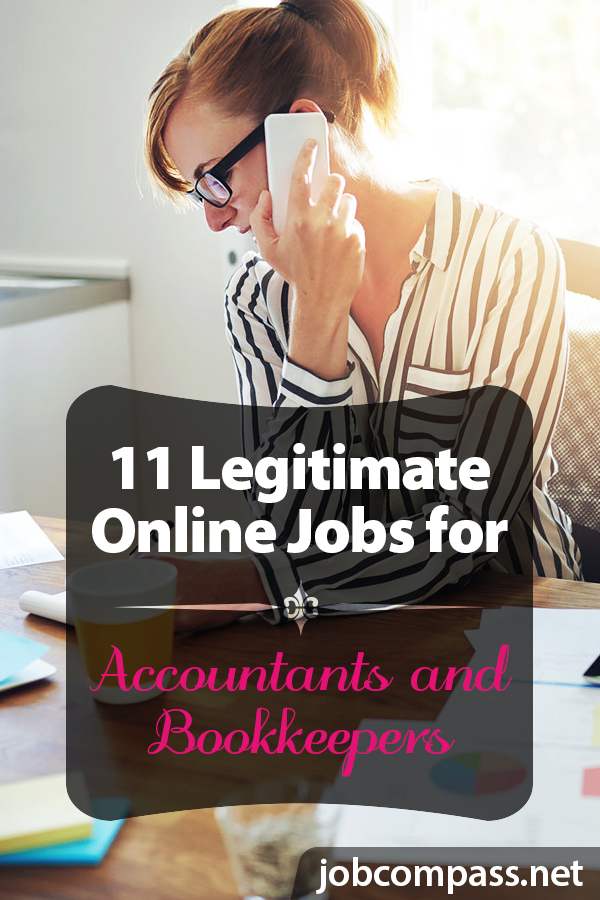 Working from home is a dream come true, especially if you're looking for work from home accounting and bookkeeping jobs. There are several companies out there that hire bookkeepers and accountants, you just need to find them.