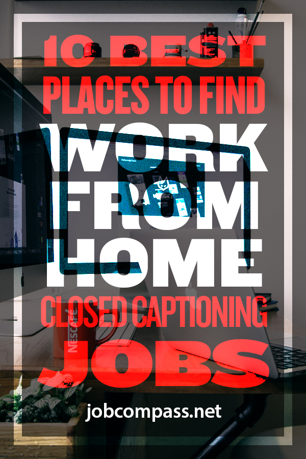 Have you ever wondered where the captions at the bottom of the shows you watch come from? Did you know you can make some serious cash from doing it? Check out these work from home closed captioning jobs!