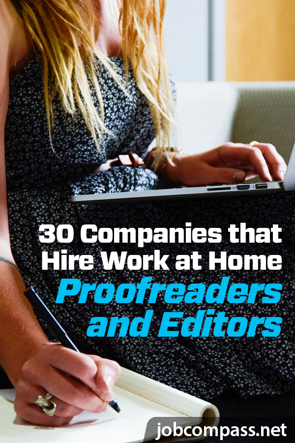 Do you have a knack for finding errors in writing? Does it bother you when you notice memes that have horrendous grammar? These companies that hire work at home proofreaders and editors may be just the job for you!