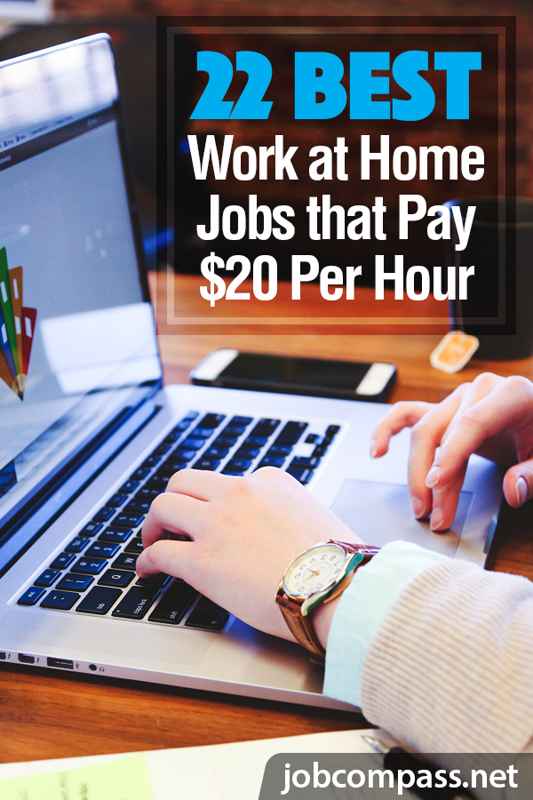 Do you wish you could make a great wage working from home? With the cost of daycare, lunches, commuting, and more, $20 an hour can seem like nothing at a 9-5 job. Instead, you can work at home with jobs that pay $20 per hour or more! What are you waiting for.