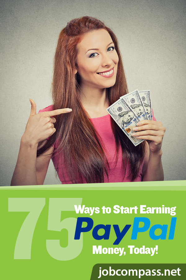 Would you like a little extra money to find its way into your PayPal account? Check out these 75 ways to earn money, for free. You won't regret it!