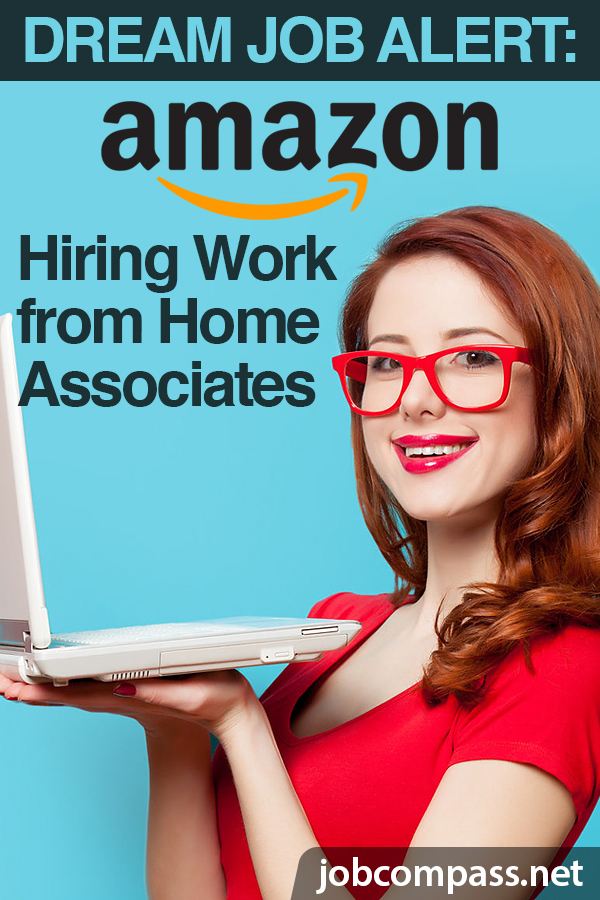 Do you want to work for one of the nation's leading retail giants? Amazon hiring work at home positions on 2019, check them out! There are hundreds!