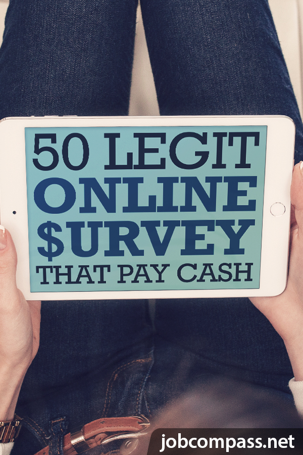 Are you a stay at home parent? Do you need extra money? You'll want to check out these 50 legitimate survey sites that pay cash.