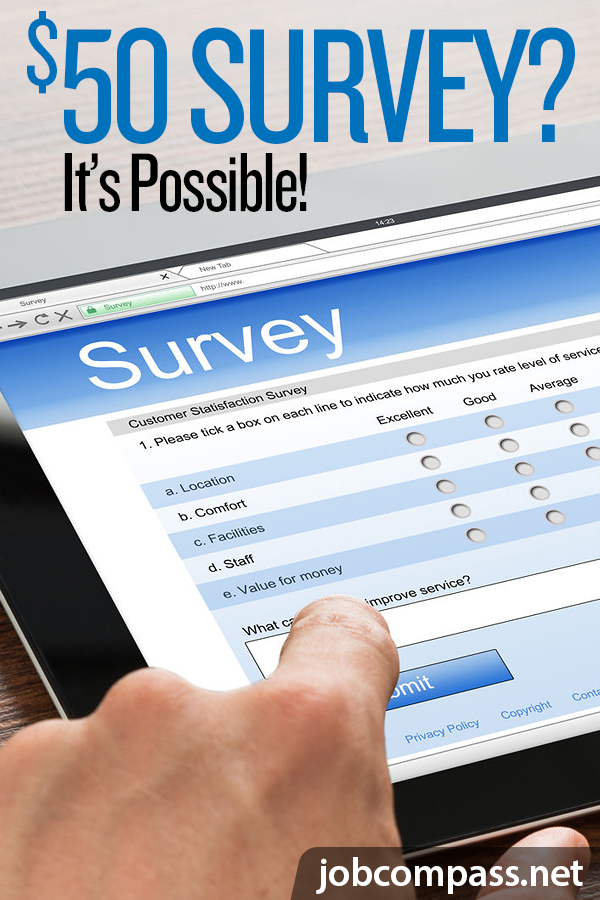 Love taking surveys? You'll love this easy way to get paid 50 dollars per survey in 2019!