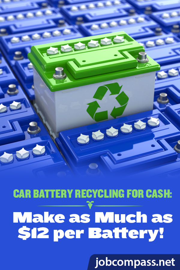 Stop letting those old, spare batteries collect dust. Instead, let them help you collect extra cash. Check out car battery recycling for cash!