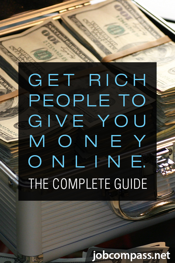 Curious how to get rich people to give you money online? You'll want to check out these 24 sites that can help you achieve your money dreams.