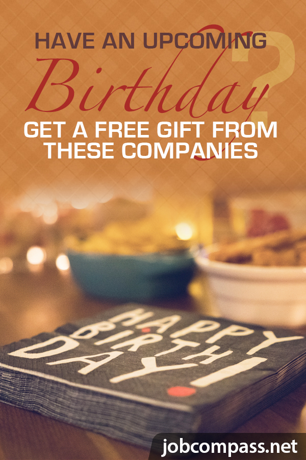 In need of free stuff on your birthday without signing up? You've come to the right place.