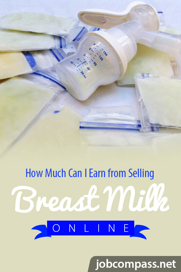 Curious about how to stay home with your baby a little bit longer and make money from home? You'll want to check out how and where you can sell your breast milk.