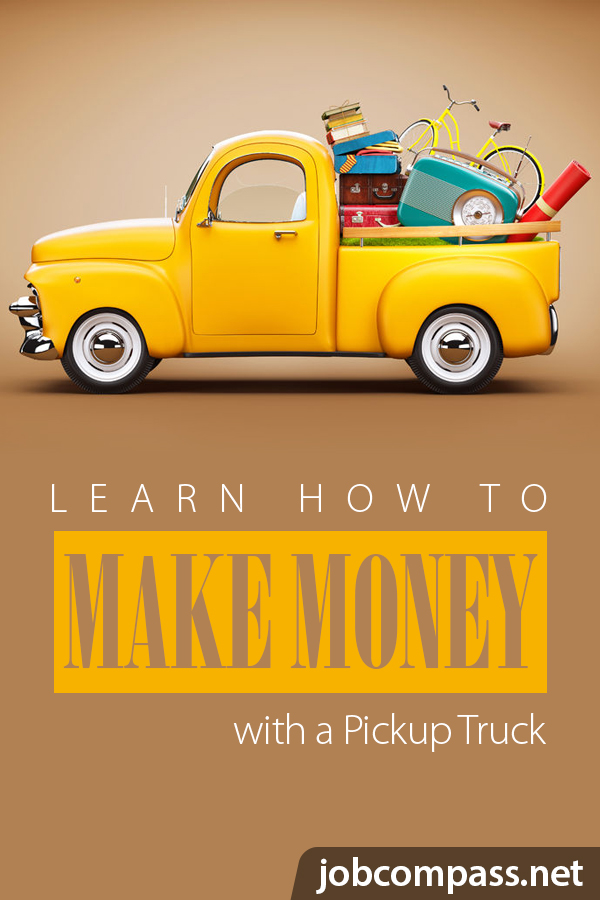 In need of money? Do you own a pickup truck? You'll want to check out these 11 side jobs with a pickup truck.