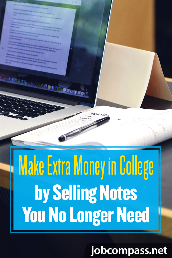 Are you a great notetaker? You will want to check out these 5 places to sell college notes online for cash.