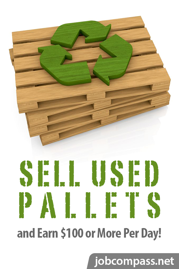 Curious how much do you get for recycling wooden pallets? Look no further. Here's your complete guide.