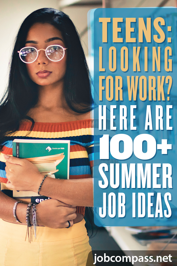 Do you know of a teen in need of work this summer? Look no further! Here's a huge list of the 75 best summer jobs for teens. You will be glad you looked!