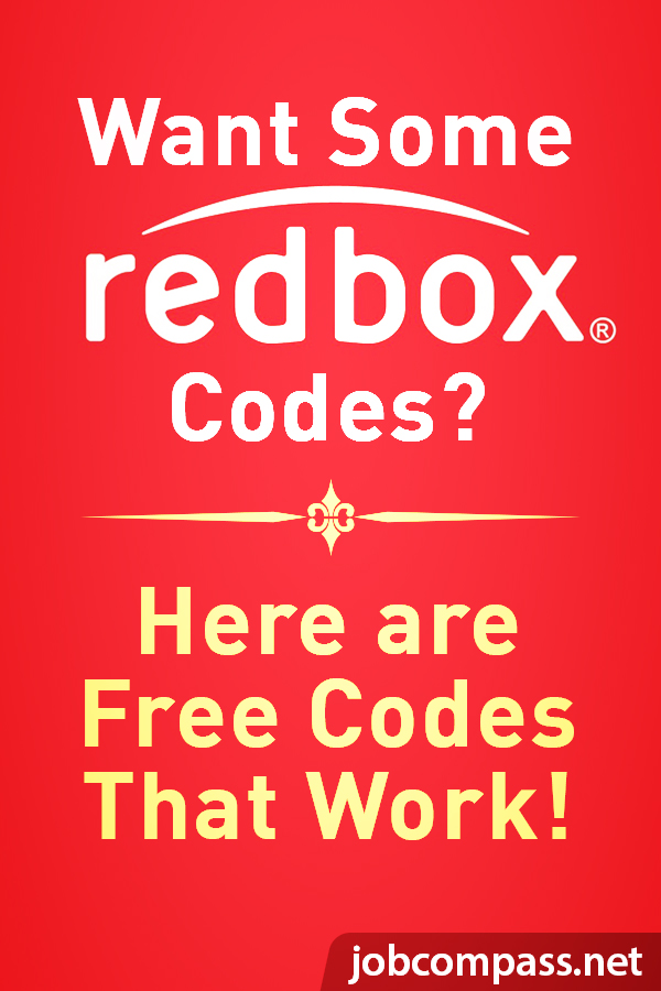Need free Redbox codes that always work? We have 23 codes in total that you won't want to miss.