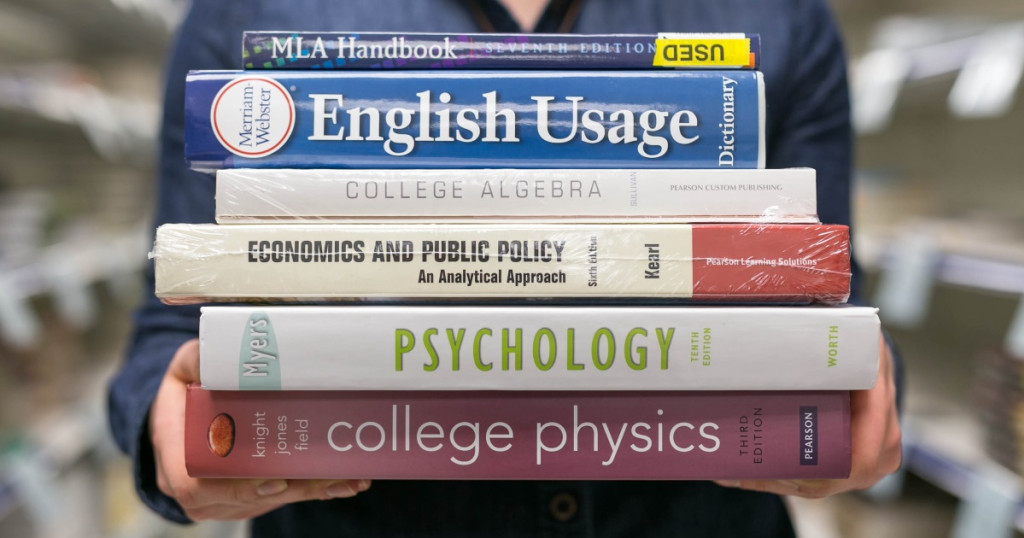 If you have several textbooks hanging around from college that you'll never use again, don't just toss them in the trash or give them away. You can get paid from sites that are willing to buy them back. Get a quote online and you could have your cash in just a few days.